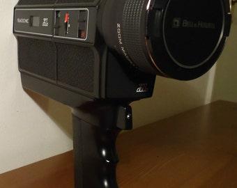 Bell and Howell 1239 XL Macro - Retro Super 8 Cine Film & Sound Camera