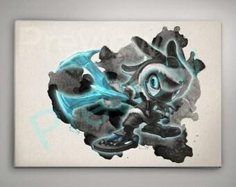 Tundra Fizz League of Legends art