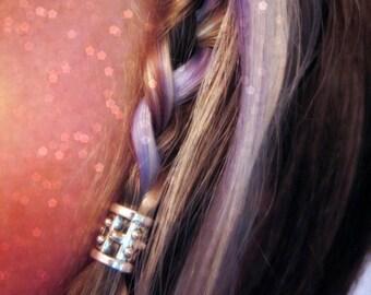 Hair bead kit The 'Lady Warrior' Bead Viking hair bead Celtic hair bead steampunk accessories goth jewelry Celtic Elvf boho TIBETAN ALLOY