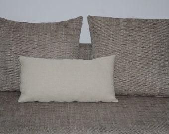 vintage hemp pillow cover
