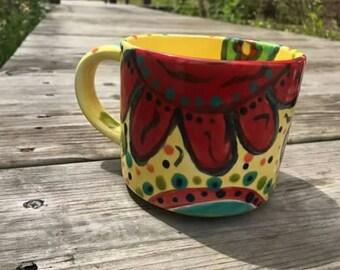 Crazy Daisy 20 Ounce Mug