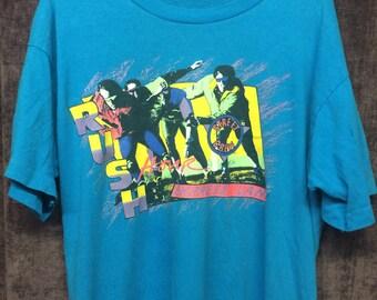 90s Rollerblading inline skate shirt. Medium