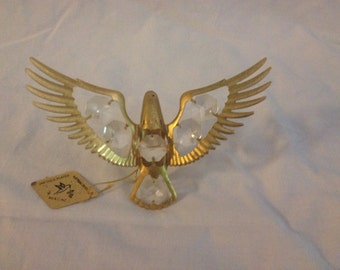 Austrian Crystal KG & C Inc. 24K Gold Plated Eagle Crystal Vintage Gold Plated in China