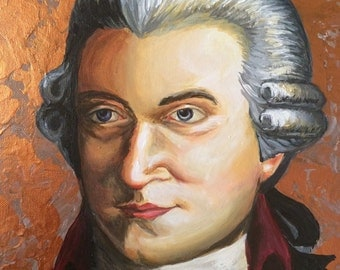 Mozart Composer Classical Painting