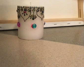 Henna candle (small)