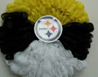 Pitsburgh Steelers Tri color Wreath