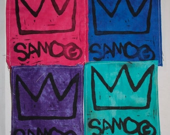 SAMO Basquiat Crown Patch