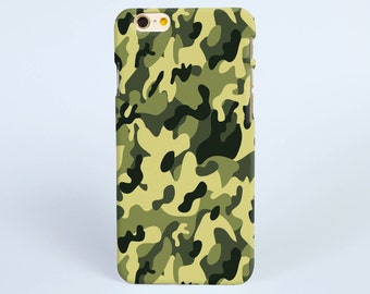 iPhone 6 Case Camo green camoflague, iPhone 6s Plus Case, iPhone 6s Case, Art iPhone 5s Case, iPhone 5c Case, iPhone 4 Case, Samsung S6 edge
