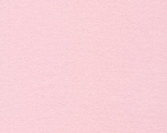 Organic flannel fabric. Cloud9 flannel fabric, pink. Solid pink flannel. Light pink