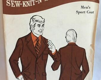Men's Sport Coat Pattern