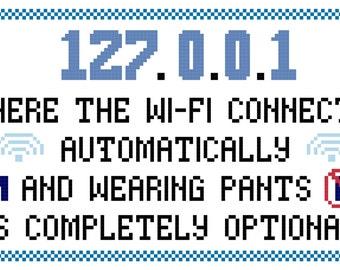 Wifi and Pants