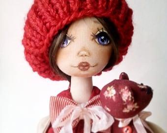 Handmade design doll