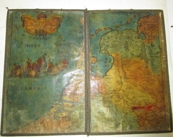 Map of Netherland made in 1672 in Roma Italy