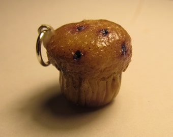 Blueberry Muffin Charm