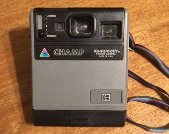 Vintage Kodamatic Champ Instant Camera - Free Shipping!