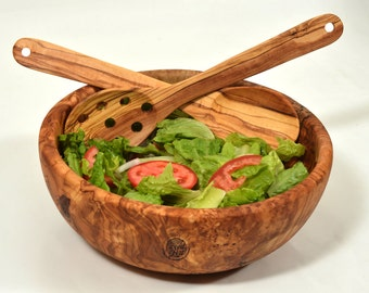 handcrafted olive wood bowl olive wood salad bowl wooden salad serving bowl beautiful
