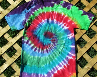 Spiral Tie Dye (Adult Small)