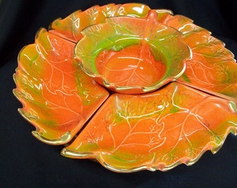 Vintage California Pottery Lazy Susan #814