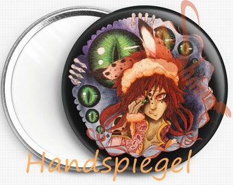 Mirror, Pocket mirror, Pocket mirror, Toragi, Bunnygirl,