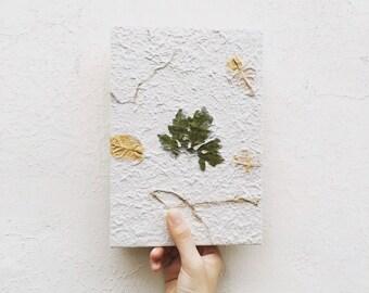 lobed leaf notebook