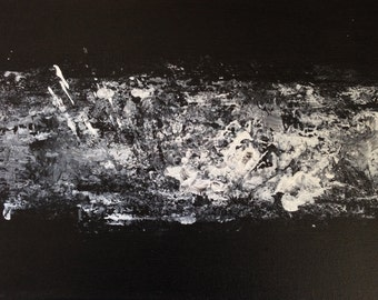 100% hand-painted abstract painting
