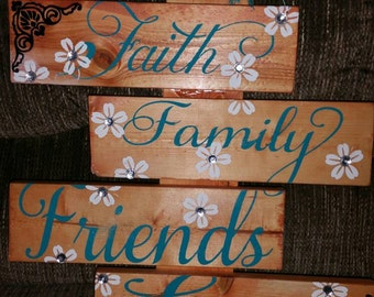 16x12 heavy 4 decker costom wall sign..all wood is treated for indoor outdoor use