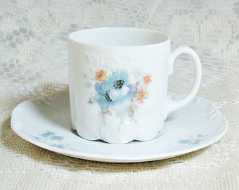 Rosenthal Demitasse Tea Cup and Saucer - Danbury Mint Collectible