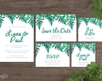 Printable Wedding Invitation (CP002)
