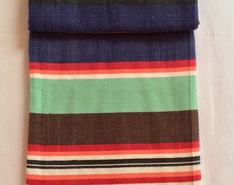 Indian cotton handwoven blanket 1