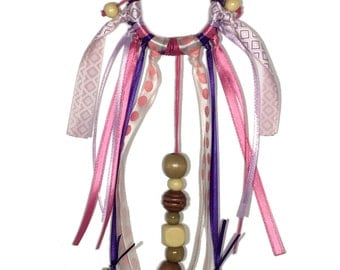 Pink & Purple Dream Catcher Cat Toy