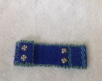 Peyote Mesh Bracelet