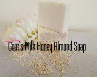 Goat's Milk Honey Almond Soap