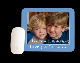 Personalised Mousepad, Father's Day Mouse pad, Father's Day Gift
