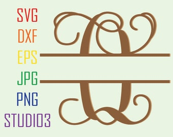 Split Letter Svg,Interlocking Monogram,Split Monogram,Split Alphabet,Svg,Dxf,Eps,Studio 3,Png,Jpg,Silhouette Studio,SVG files,Cutting File