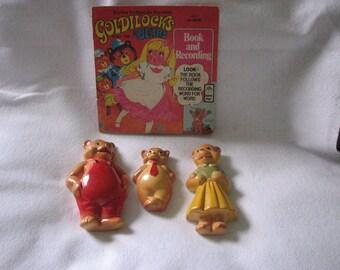 Three Bears Vintage Chalk Set