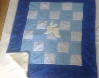 Blue Cot Quilt