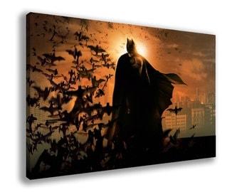 BATMAN THE DARK Knight Rises Arkham Origins Canvas Wall Art
