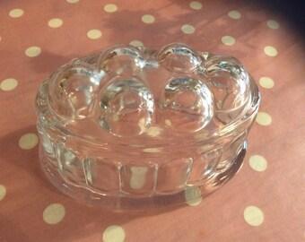 Vintage Glass Jelly Mould