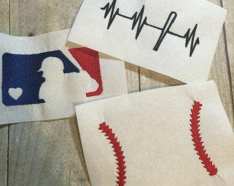Baseball Embroidery Design Package, 3 Baseball Embroidery Designs