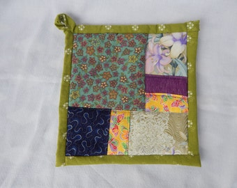 Hand-quilted Potholder