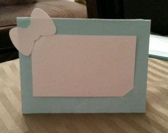 Set of 6-Robins Egg Blue Food Labels or Place Cards Bridal and Co