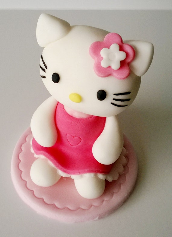 personalised edible cake decoration hello kitty cake toppers