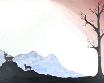 Original Acrylic Painting - Sillo