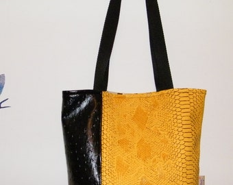 Bag yellow and black