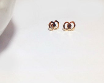 Simple Gold Studs
