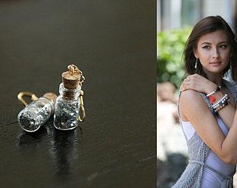 Enchanting Mini Jar Earrings
