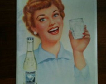 Beautiful original cans poster ... A Monopole ... 1953