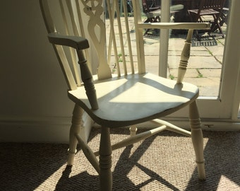 Shabby chic vintage chair