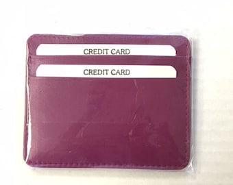 Leather Card Holder/ Wallet
