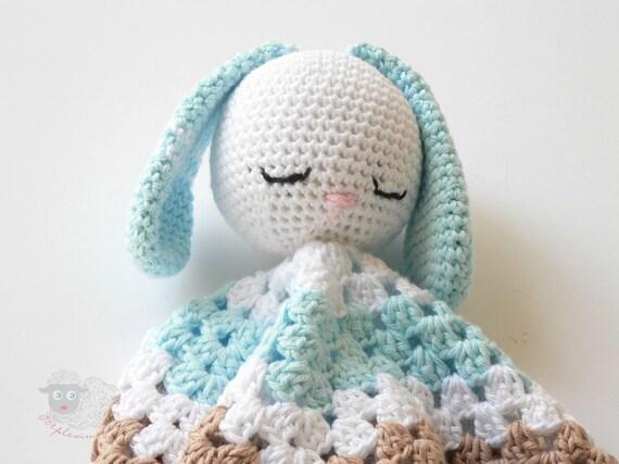 Crochet Pattern, Security blanket pattern, Crochet ...